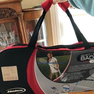 Badminton set. Never opened or used!